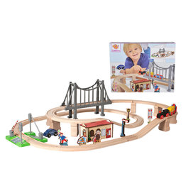 Eichhorn Train Set with suspension Bridge