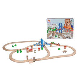 Eichhorn Train Set with Bridge