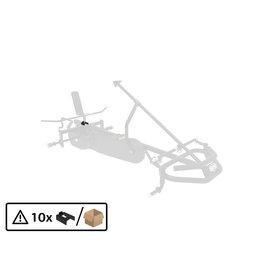 BERG XL Rahmen - Kunststoffeinsatz U-förmig für Sitzrahmen (10x)