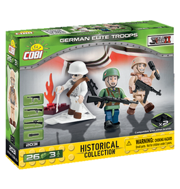 COBI COBI WW2  2031 - Figures German Elite Troops