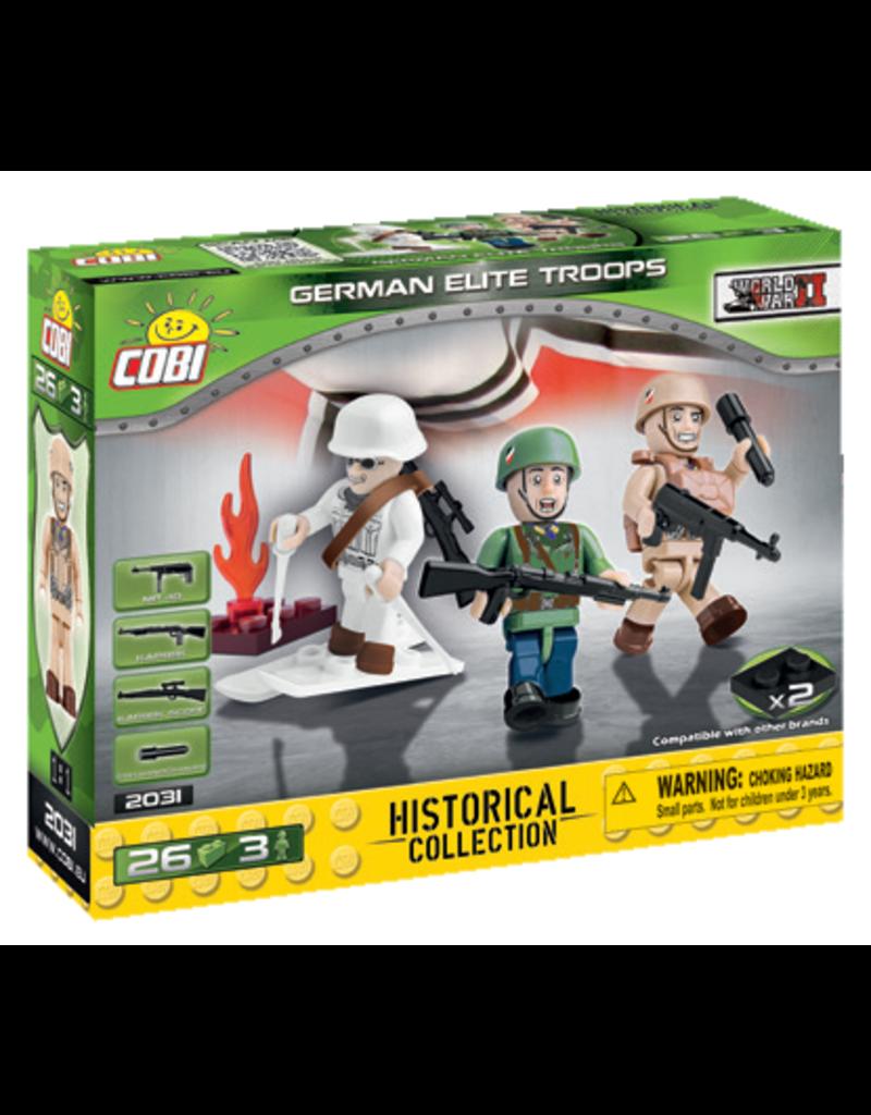COBI COBI WW2  2031 - Figures German Elite Troops
