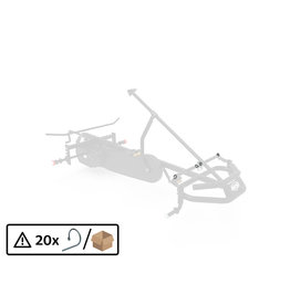 BERG XL Frame - Steering rod secure spring (20x)
