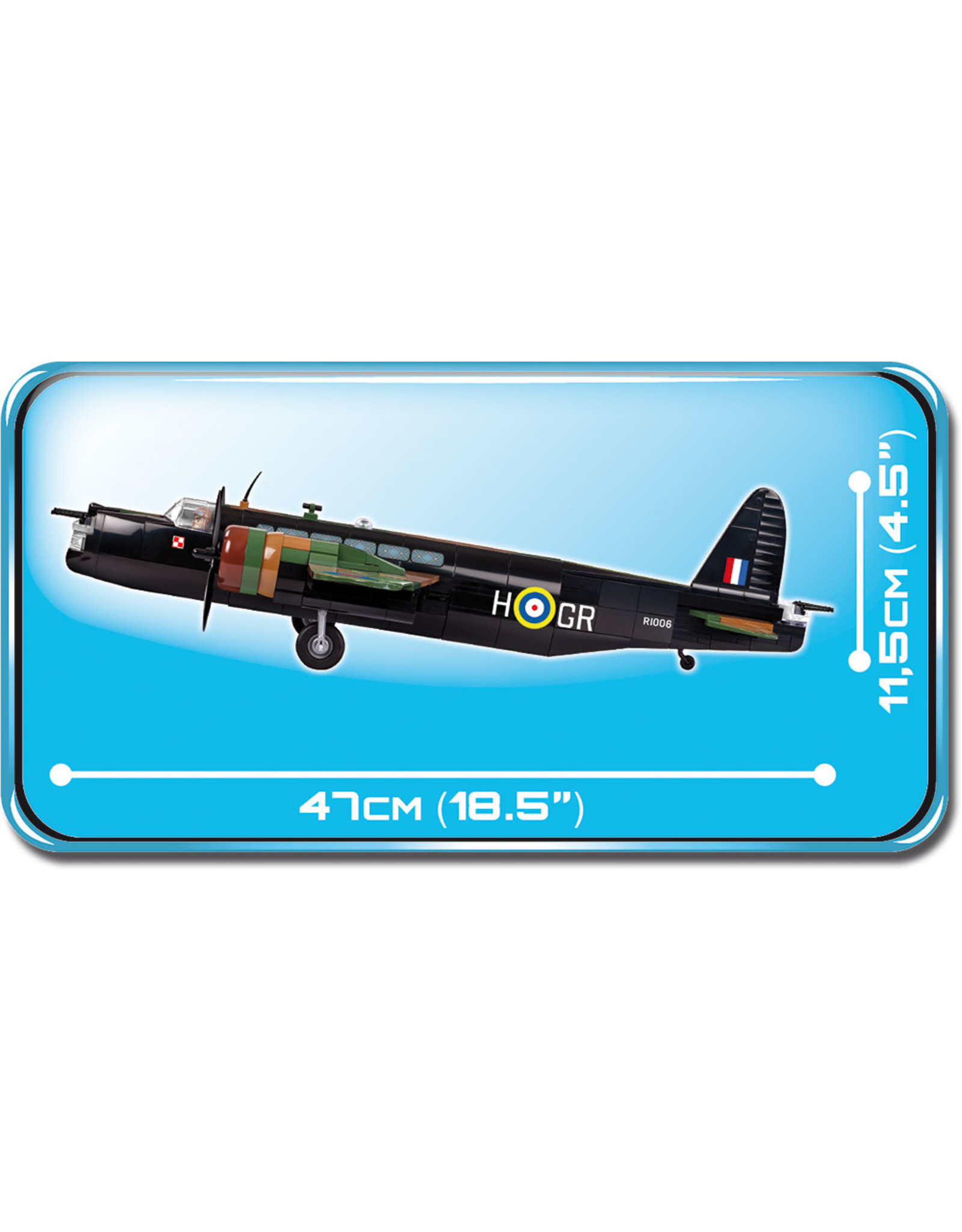 COBI Cobi WW2 5531 - Vickers Wellington