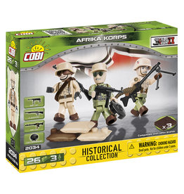 COBI COBI WW2  2034 - Figures German Africa Korps