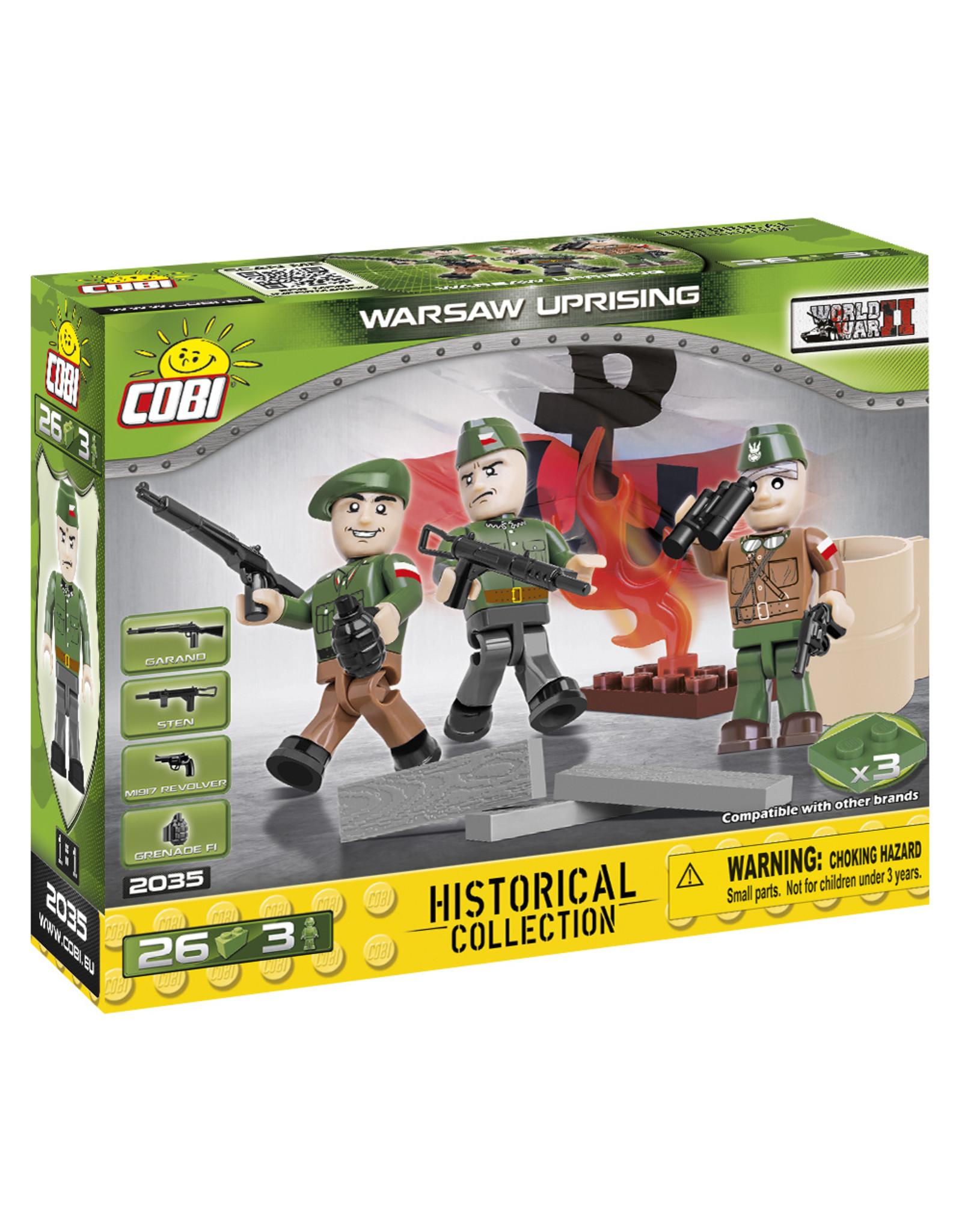 COBI COBI WW2  2035 - Figures Warschaw Uprising
