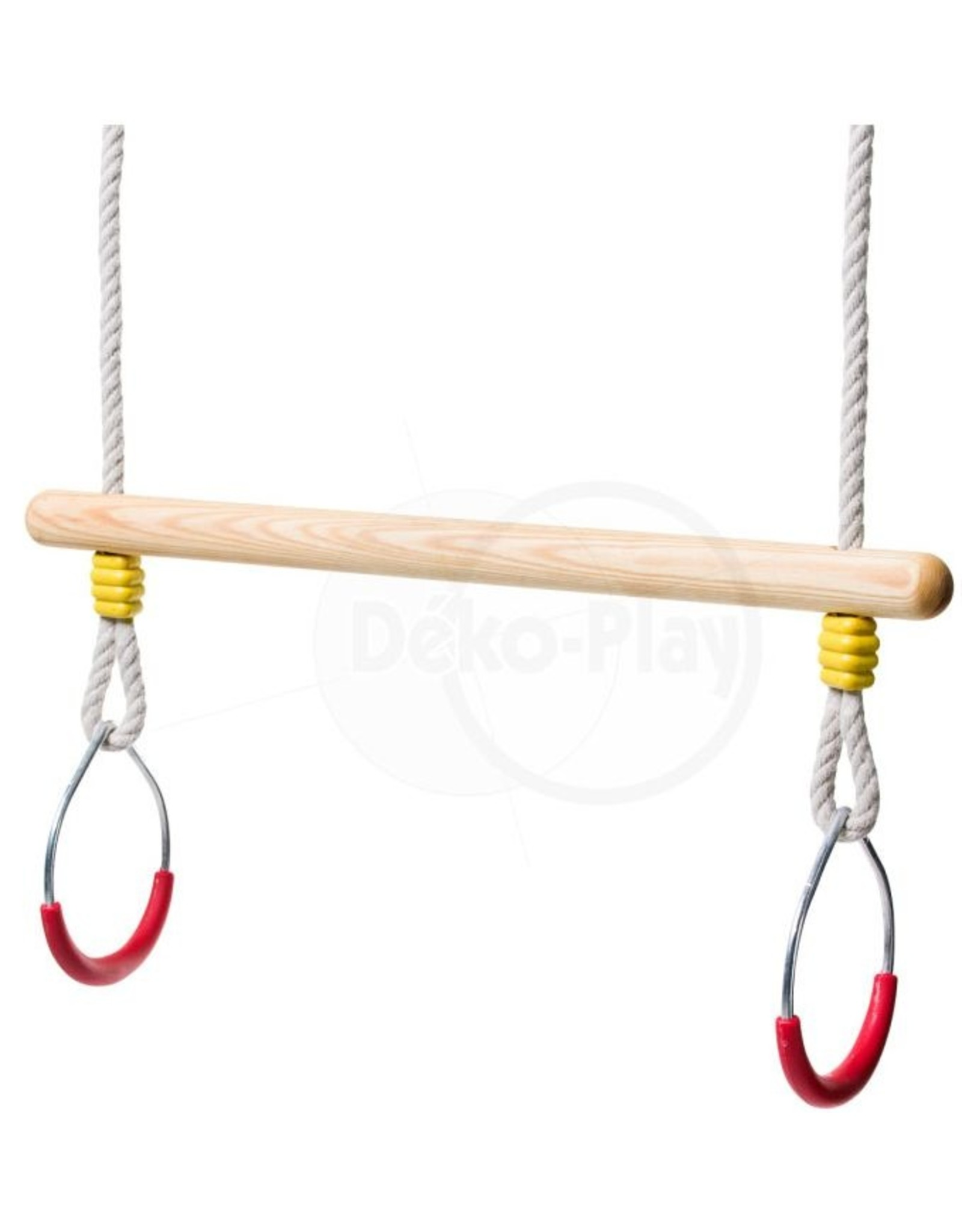 Déko-Play Déko-Play trapeze met metalen ringen