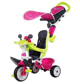 Smoby Baby Driver Comfort Roze