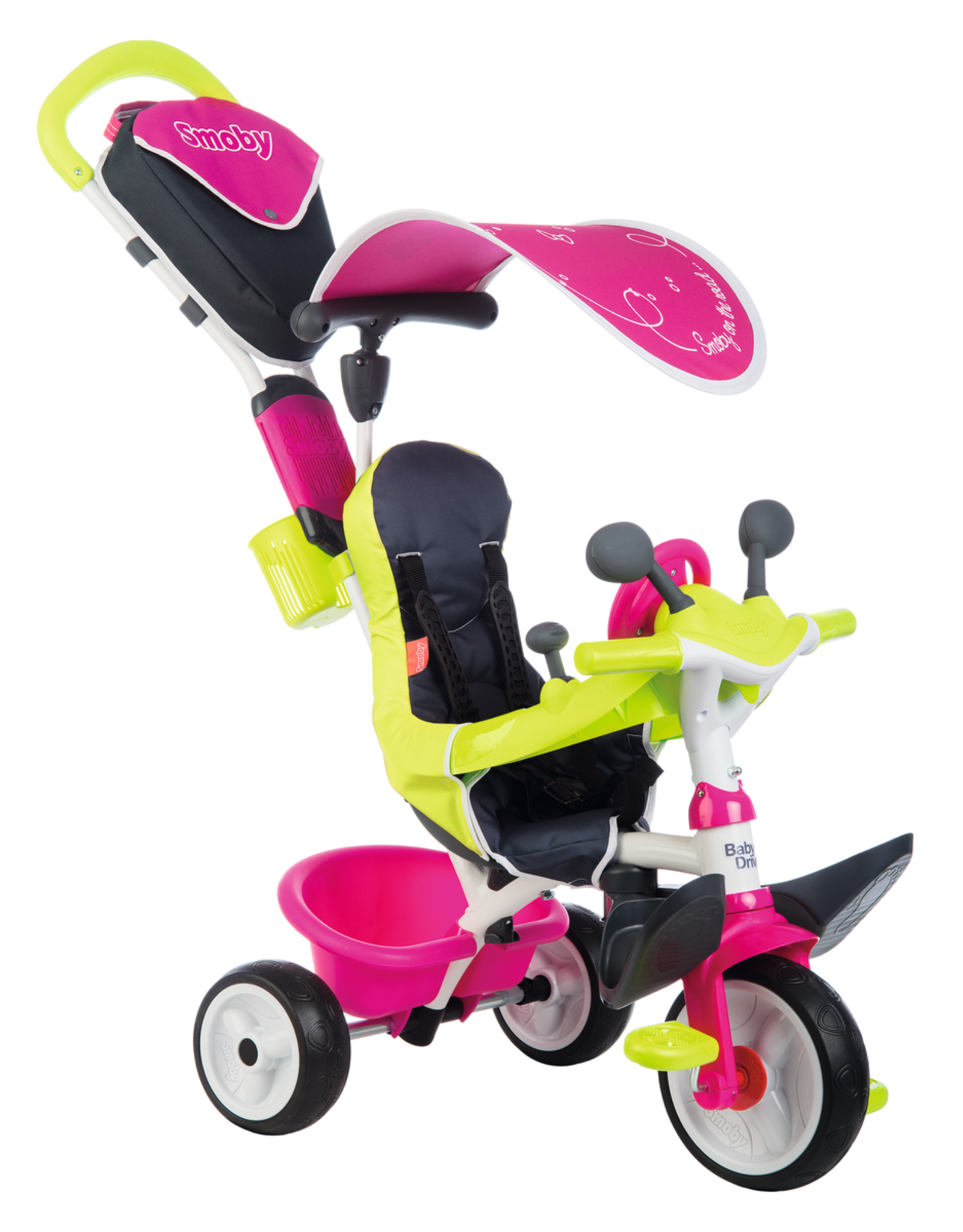 Smoby Smoby Baby Driver Komfort Rosa