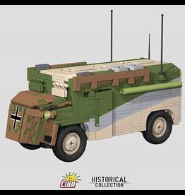 COBI COBI WW2 2525 Rommel's Mammut