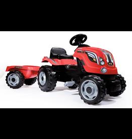 Smoby Traktor Farmer XL Rood