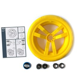 BERG Buzzy - Wheel yellow-yellow 9x2 (blue cover)