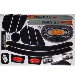 Rolly Toys Sticker Fendt Vario 211