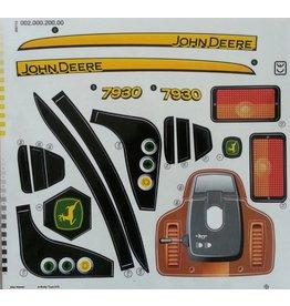 Rolly Toys Aufkleber John Deere 7930