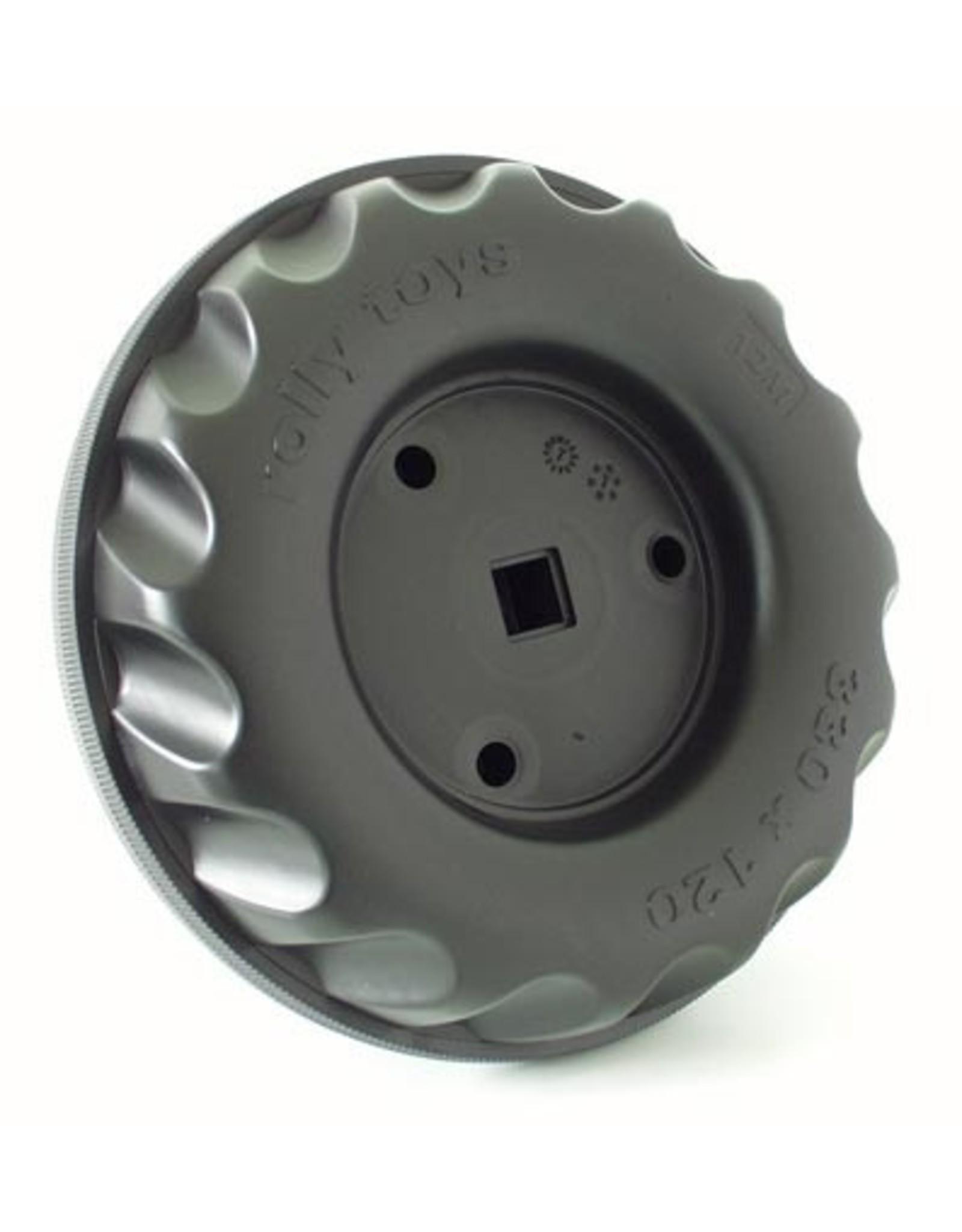 Rolly Toys Draag wiel 330x120-12M zwart