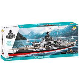 COBI COBI WWII 3085 Battleship Tirpitz - WOW