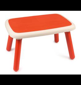 Smoby Kid Tafel rood - kindermeubel
