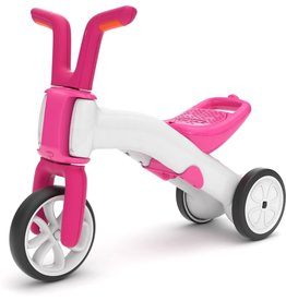 Chillafish Bunzi 2 in 1 loopfiets roze