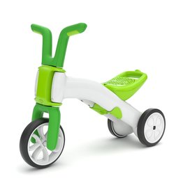 Chillafish Bunzi 2 in 1 loopfiets groen