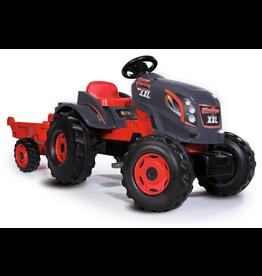 Smoby Tractor Stronger XXL + aanhanger