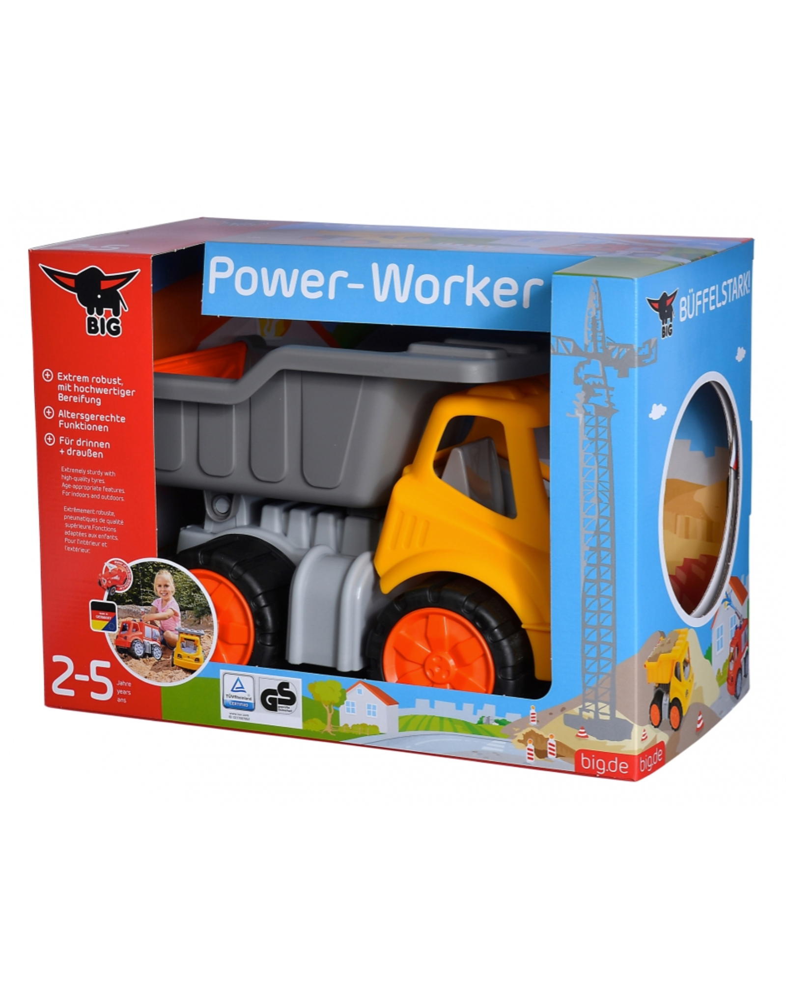 BIG BIG Power Worker kiepwagen