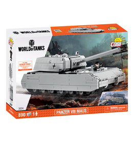 COBI COBI  World of Tanks 3024 SDKFZ 205 PZKF Maus