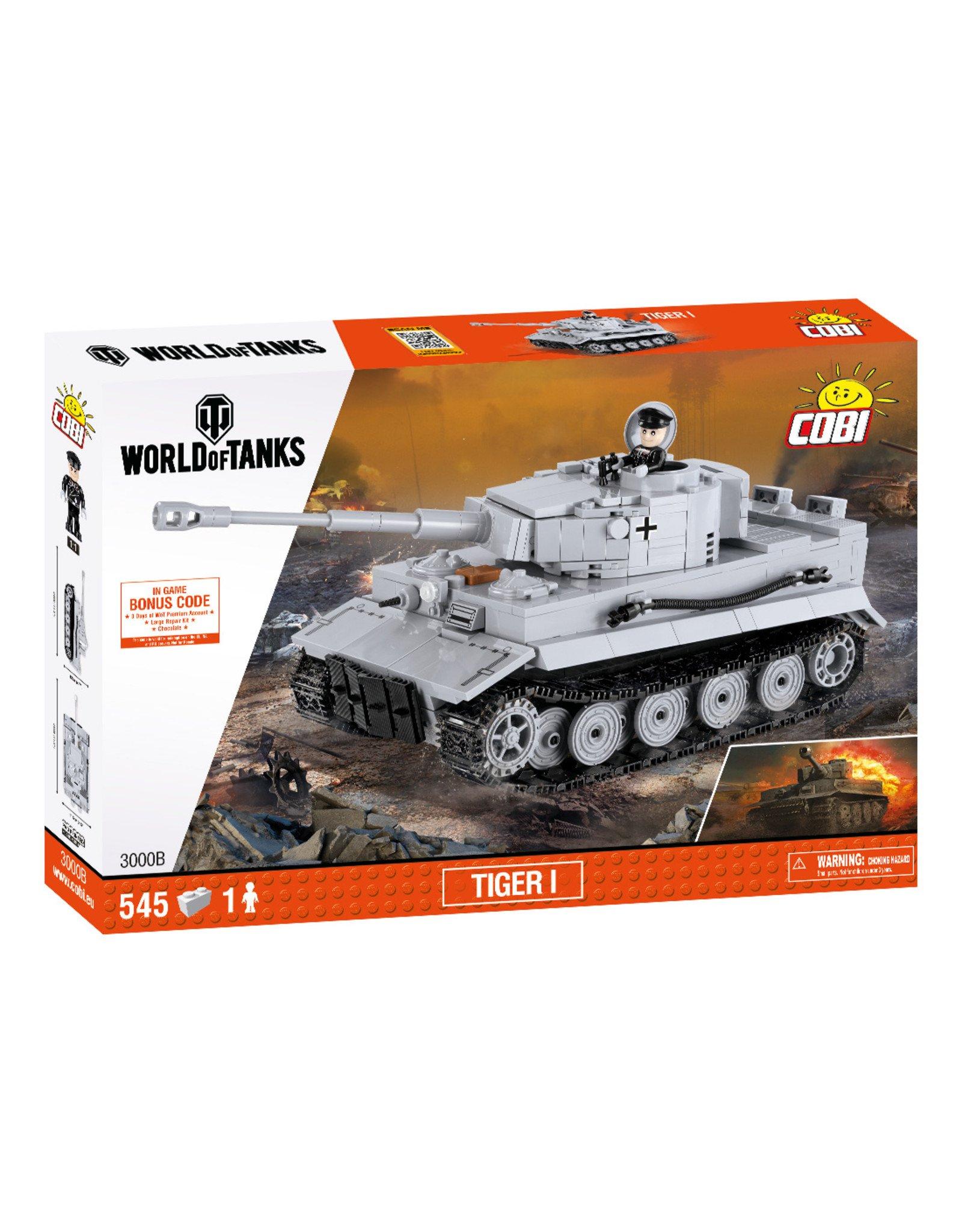 COBI COBI World of Tanks 3000B Tiger I