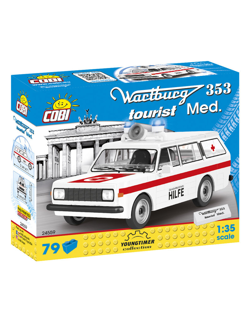 COBI COBI 24559 - Wartburg 353 Toerist Medical