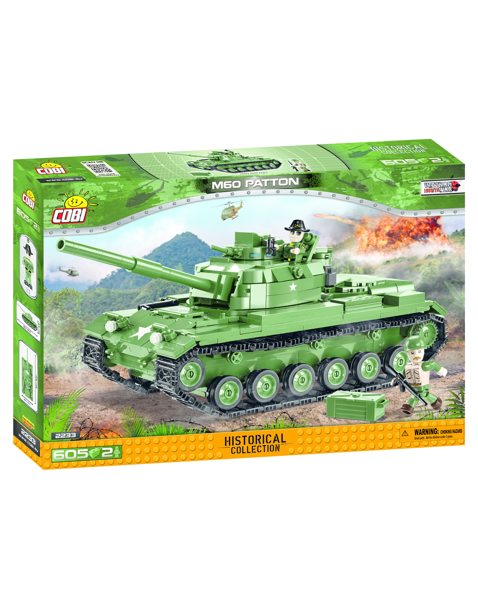 COBI COBI 2233 M60 Patton