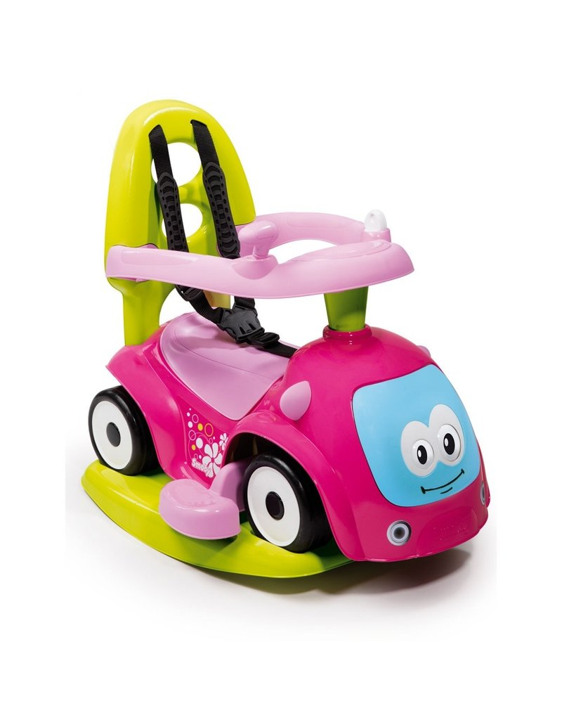 Smoby Smoby Walking Car 4 in 1 Maestro Pink 720303