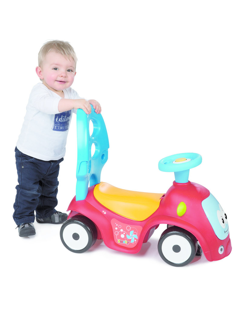 Smoby Smoby Walking Car 4 in 1 Maestro red 720302