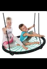 Déko-Play Déko-Play Nest Swing, black/green 100cm