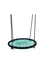 Déko-Play Déko-Play nestschommel , zwart/groen 100cm