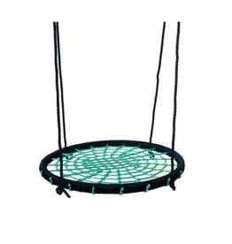 Déko-Play Nest Swing, black/green