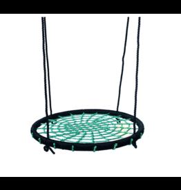 Déko-Play Nestschaukel Schwarz/grün