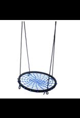 Déko-Play Déko-Play nestschommel , zwart/blauw100cm