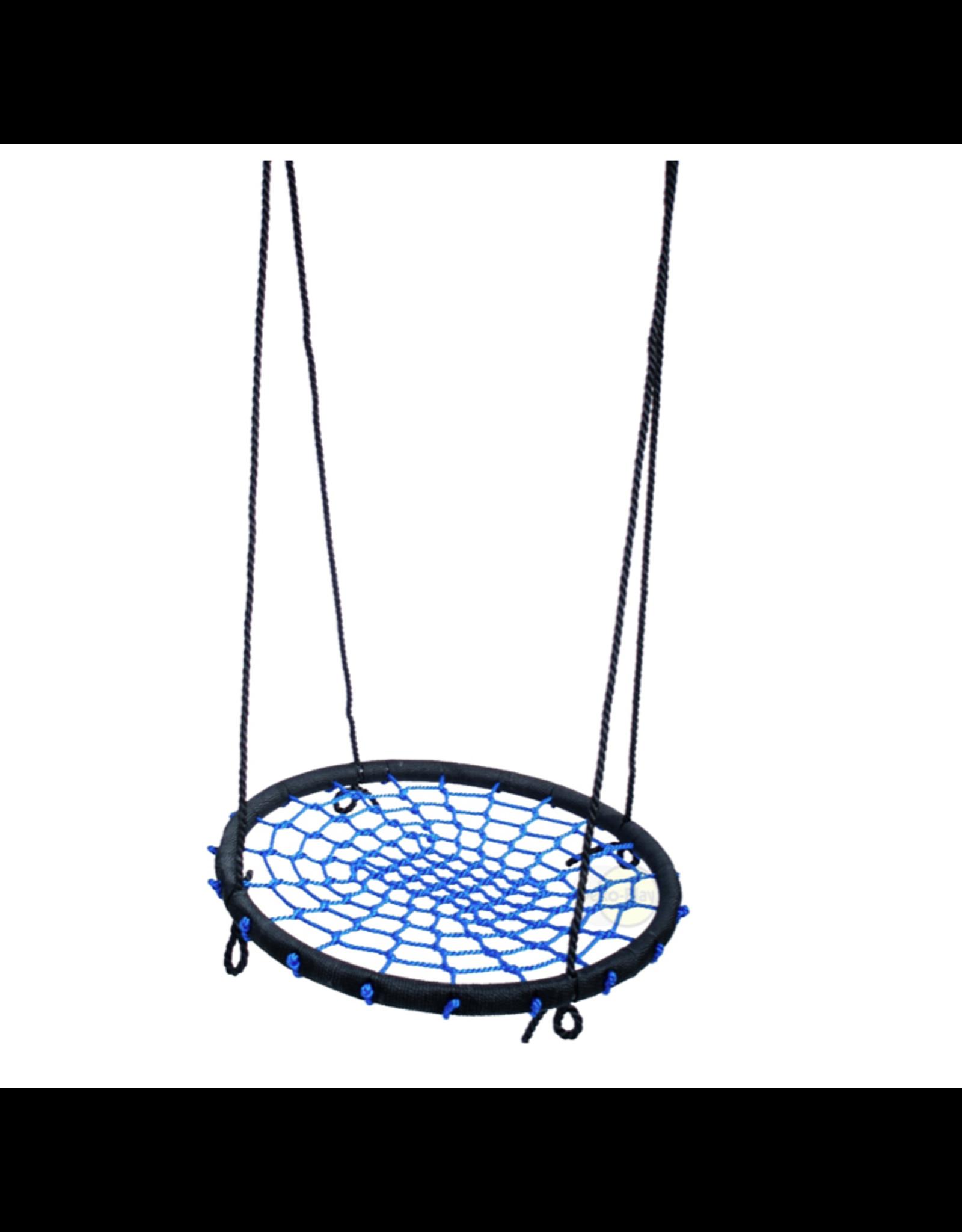 Déko-Play Déko-Play Nest Swing, black/blue 100cm