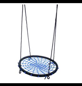 Déko-Play Nest Swing, black/blue
