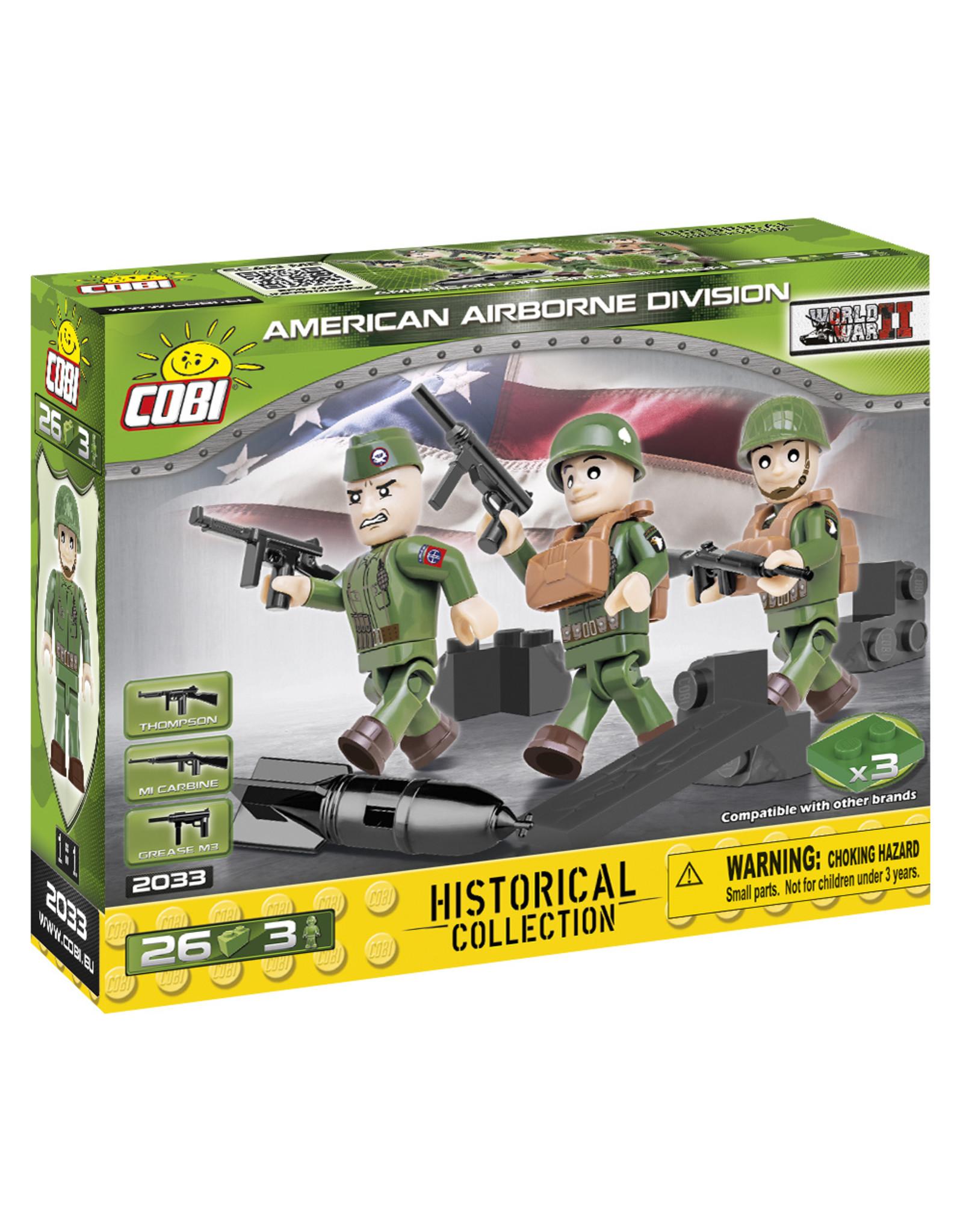 COBI CCOBI WW2  2033 - Figures Airborne Division