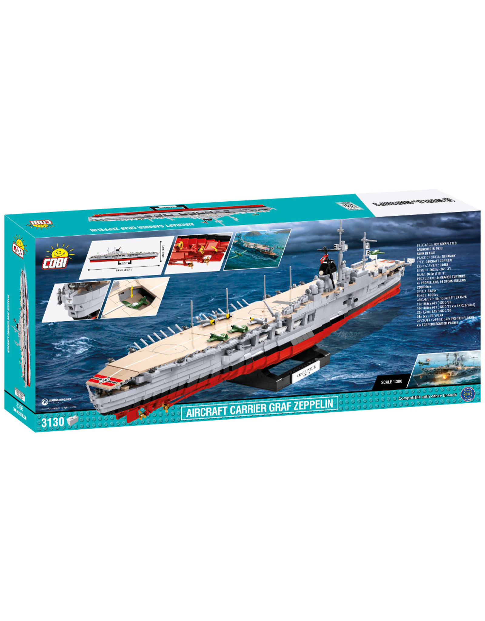 COBI COBI 3086 WOW Aircraft carrier Graf Zeppelin