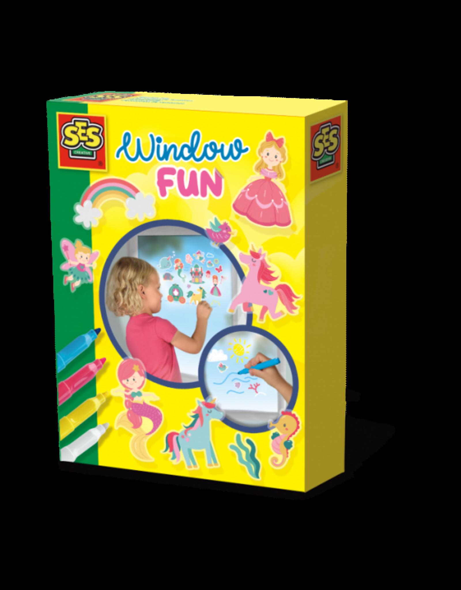 SES Creative Fensterbilder - Prinzessinnen Welt