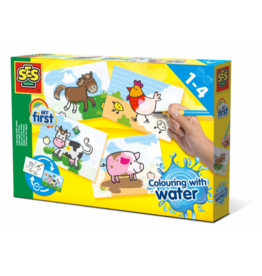 SES Creative Colouring with water - Farm animals