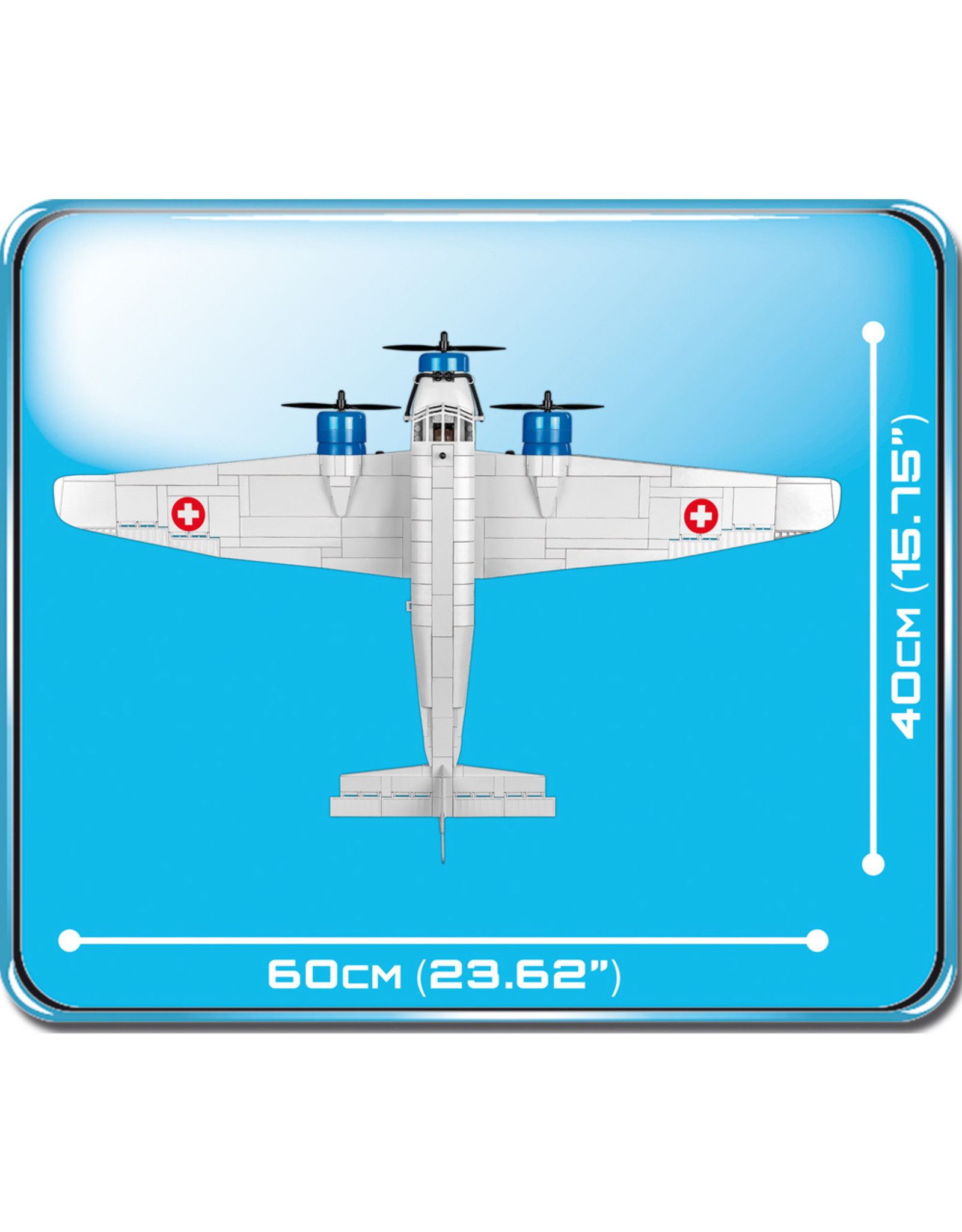 COBI COBI  WW2 5711- Junkers JU-52/3M G4E