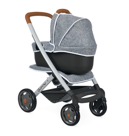 Smoby Quinny 3-in-1 Multifunktions-Puppenwagen - Grau