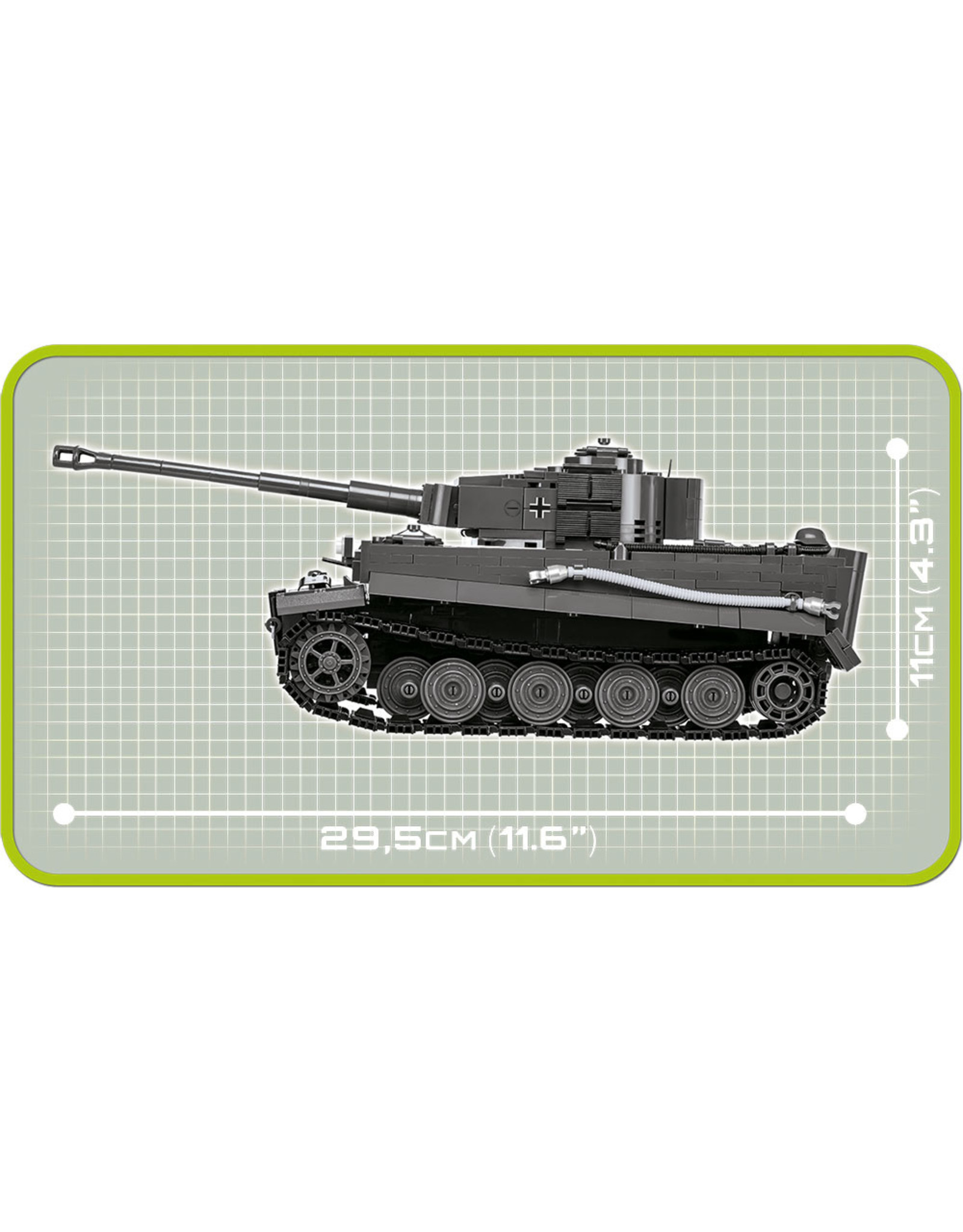 COBI COBI WW2 2538 PzKpfw VI- Tiger Ausf. E
