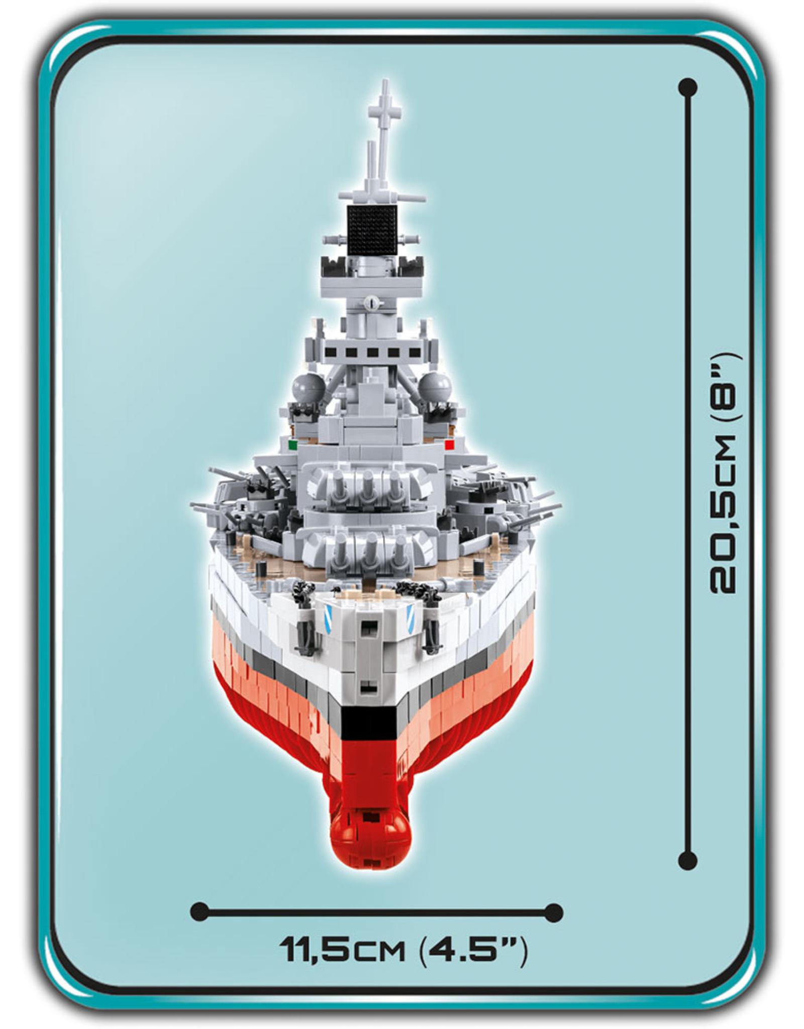 COBI COBI WW2 4818 Battleship Scharnhorst