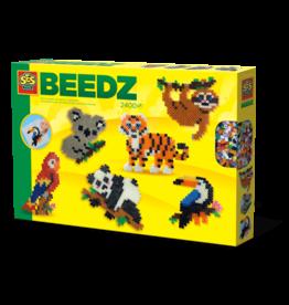 SES Creative Iron on beads - Jungle animals