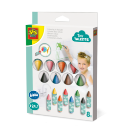 SES Creative Colouring in the bath 8 pack