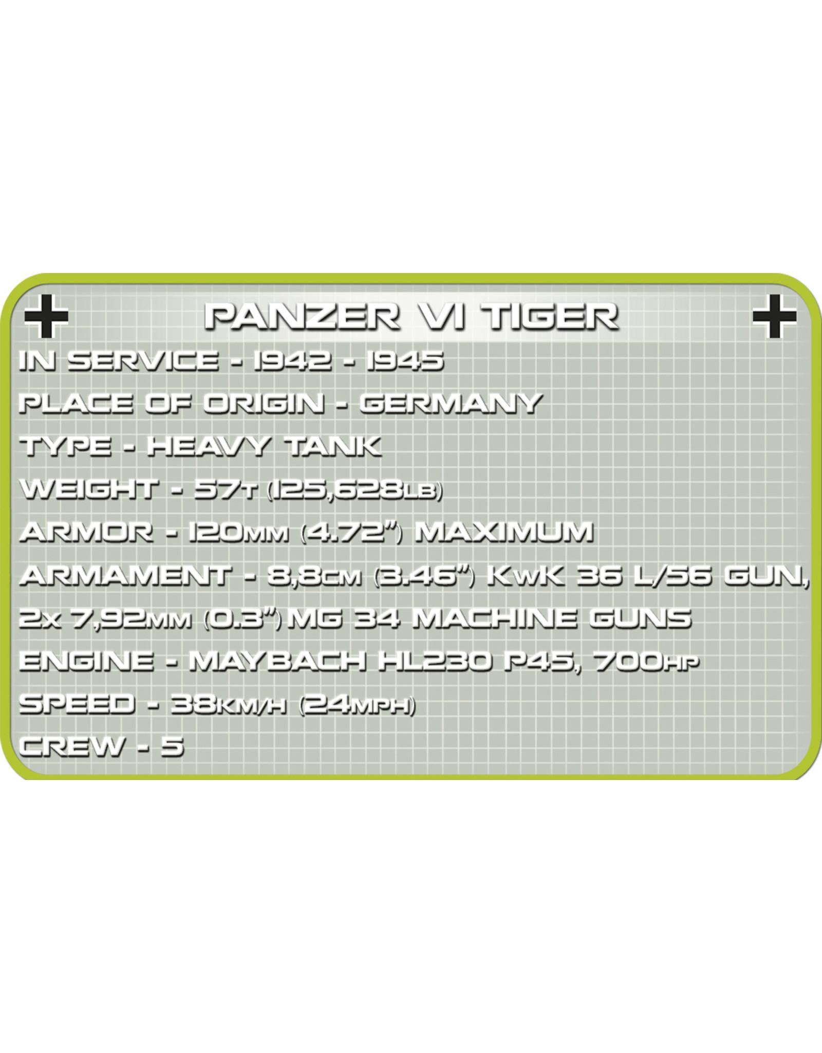 COBI Cobi WW2 2703 - Panzer VI Tiger