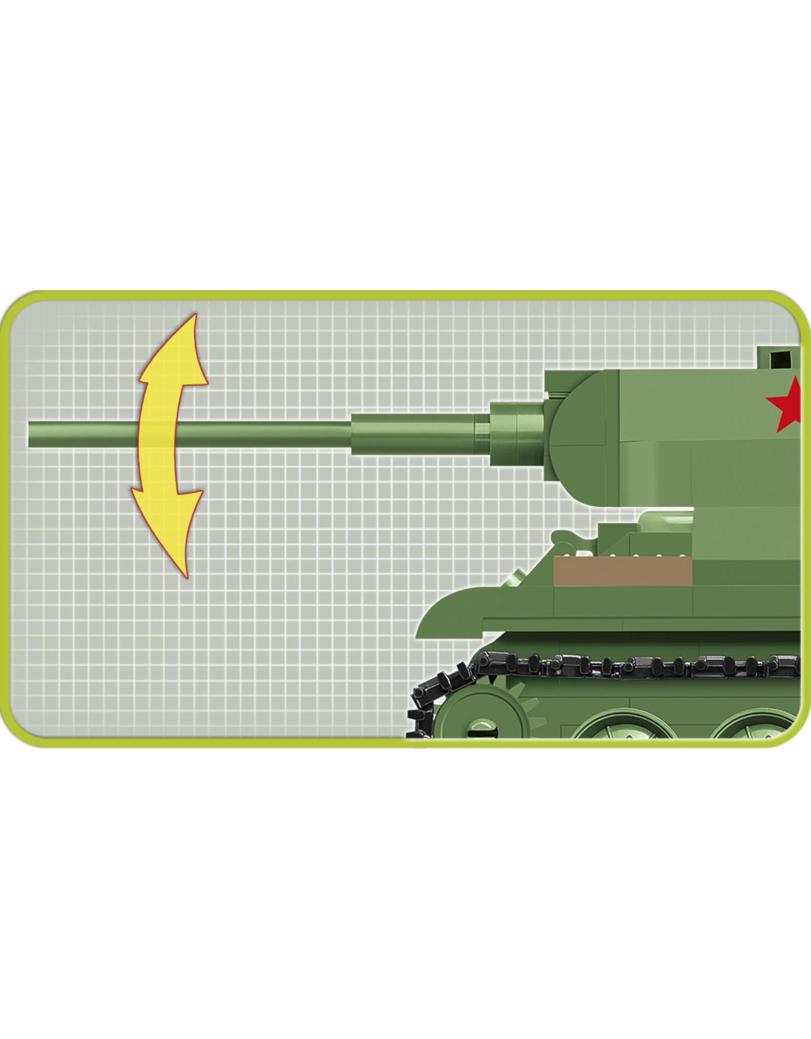 COBI Cobi WW2 2702 - T-34-85