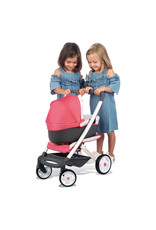 Smoby Smoby - BB-Confort 3-in-1 multifunctionele Poppenwagen - roze